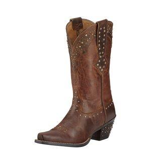 Ariat Rhinestone Cowgirl Studded Western Boots 7B